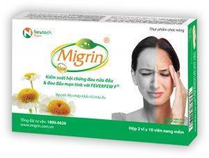 Thuốc Migrin - thuốc trị đau đầu hiệu quả