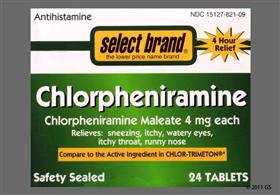 Tìm hiểu về thuốc Chlorpheniramine 4mg