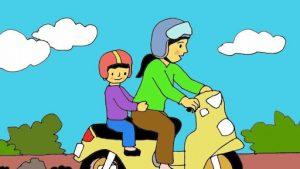 Vẽ tranh an toàn giao thông ý nghĩa
