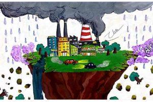 Cách vẽ tranh bảo vệ môi trường hay nhất