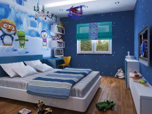 Những ưu điểm và lưu ý khi vẽ tranh tường phòng ngủ cho em bé