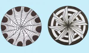 Những quy luật được ứng dụng trong trang trí hình tròn