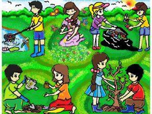 Giúp bé vẽ tranh bảo vệ môi trường đẹp nhất và ý nghĩa nhất