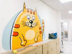 Những lưu ý khi vẽ tranh tường để có được một bức vẽ đẹp