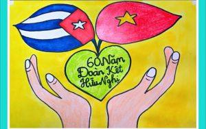 Trung ương Đoàn TNCS Hồ Chí Minh phát động phong trào vẽ tranh Việt Nam Cuba