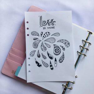 Gợi ý cách vẽ trang trí sổ tay với Doodle độc đáo và thú vị